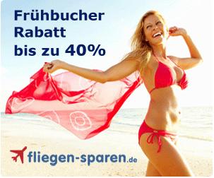Anzeige Frühbucherrabatt