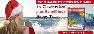 Clever reisen! WEihnachts-Geschenkabo